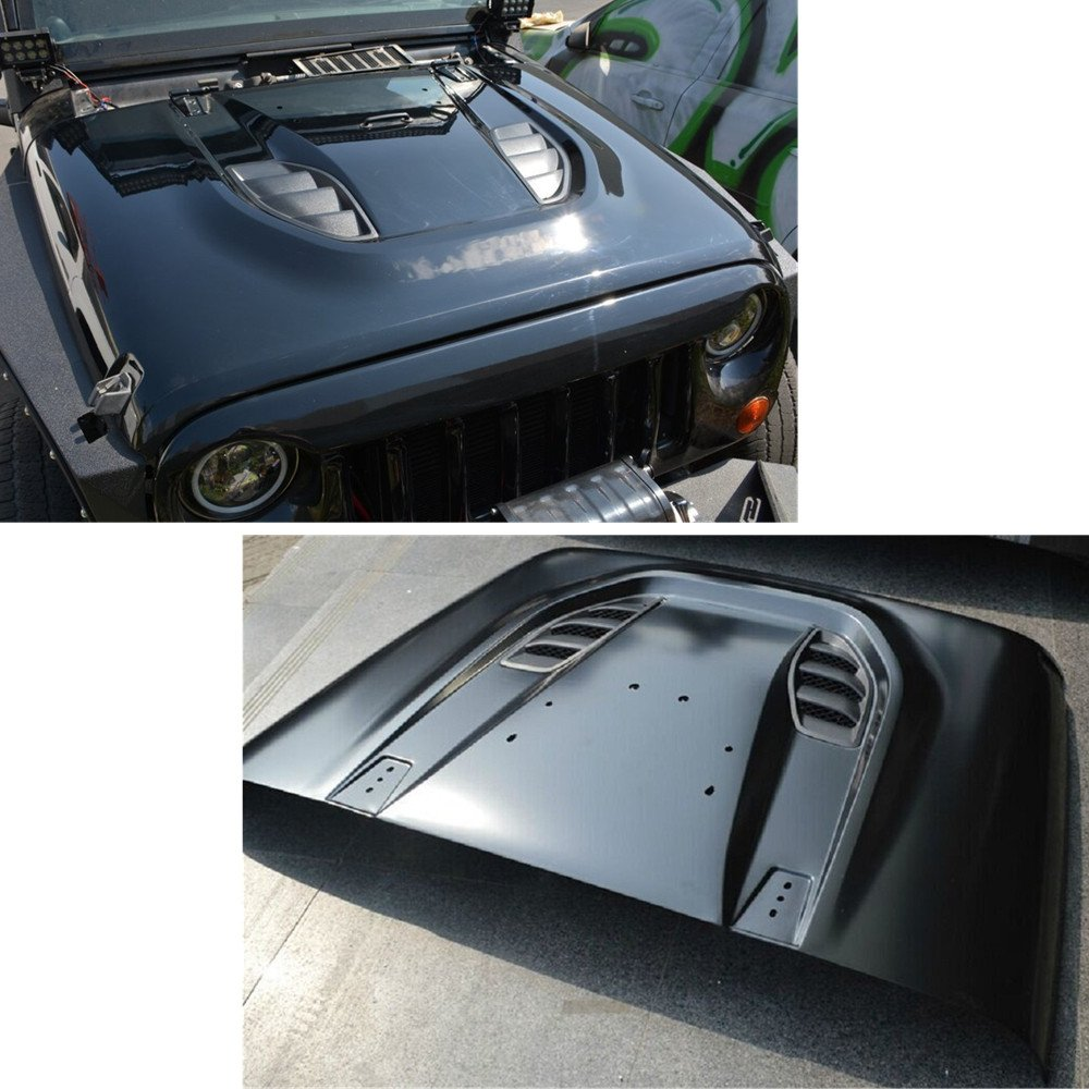 Cheap Jeep Wrangler Hood Find Deals On Line At Release Get Quotations Sxma 10th Anniversary Hard Rock Series Heat Reduction For 07 17