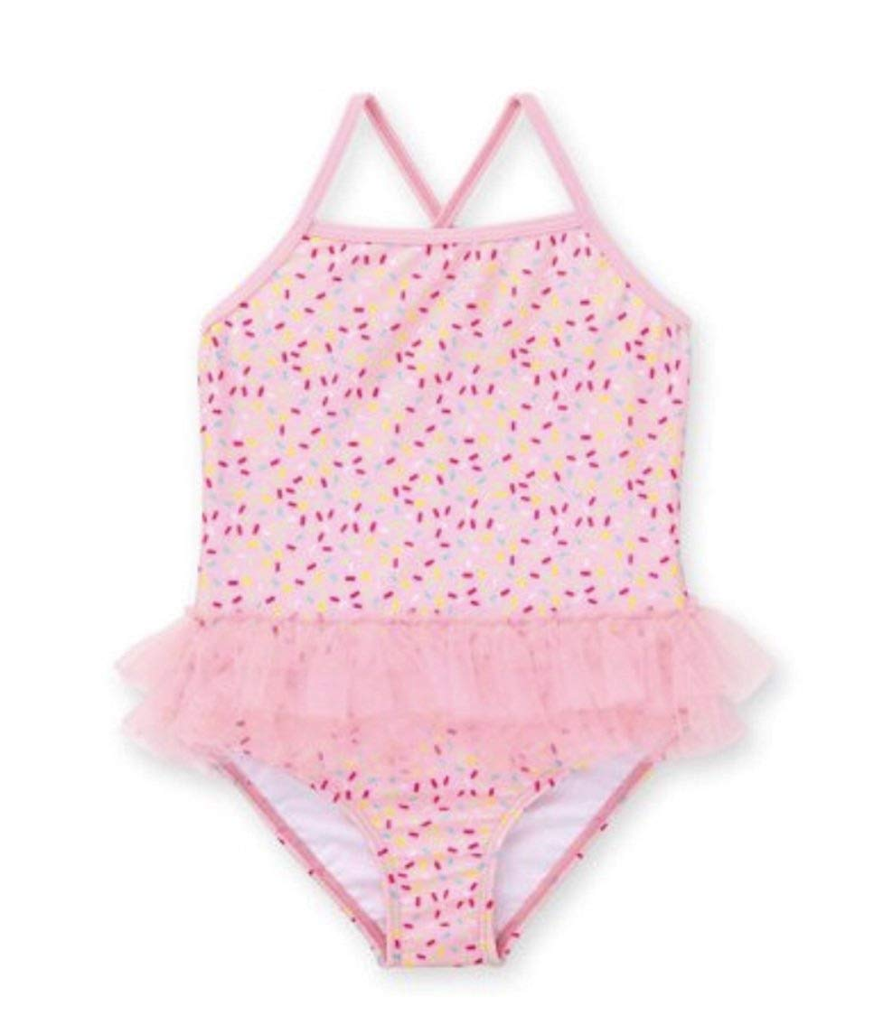 1b43bf94a9 Get Quotations · Healthtex Toddler Girl One Piece Tutu Swimsuit Pink  Gumball(Size: 2T)