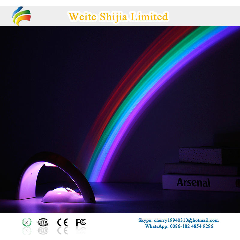 Factory Direct Rainbow Led Projector Light