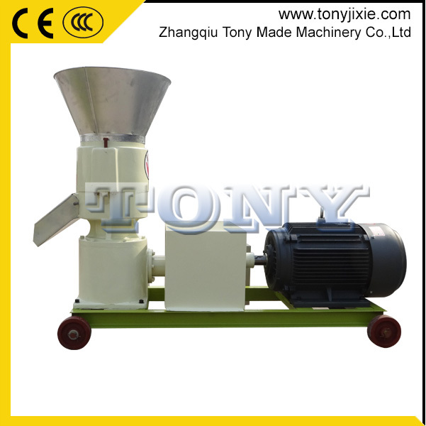 Farm equipment 200-300kg/h small poultry feed pellet press