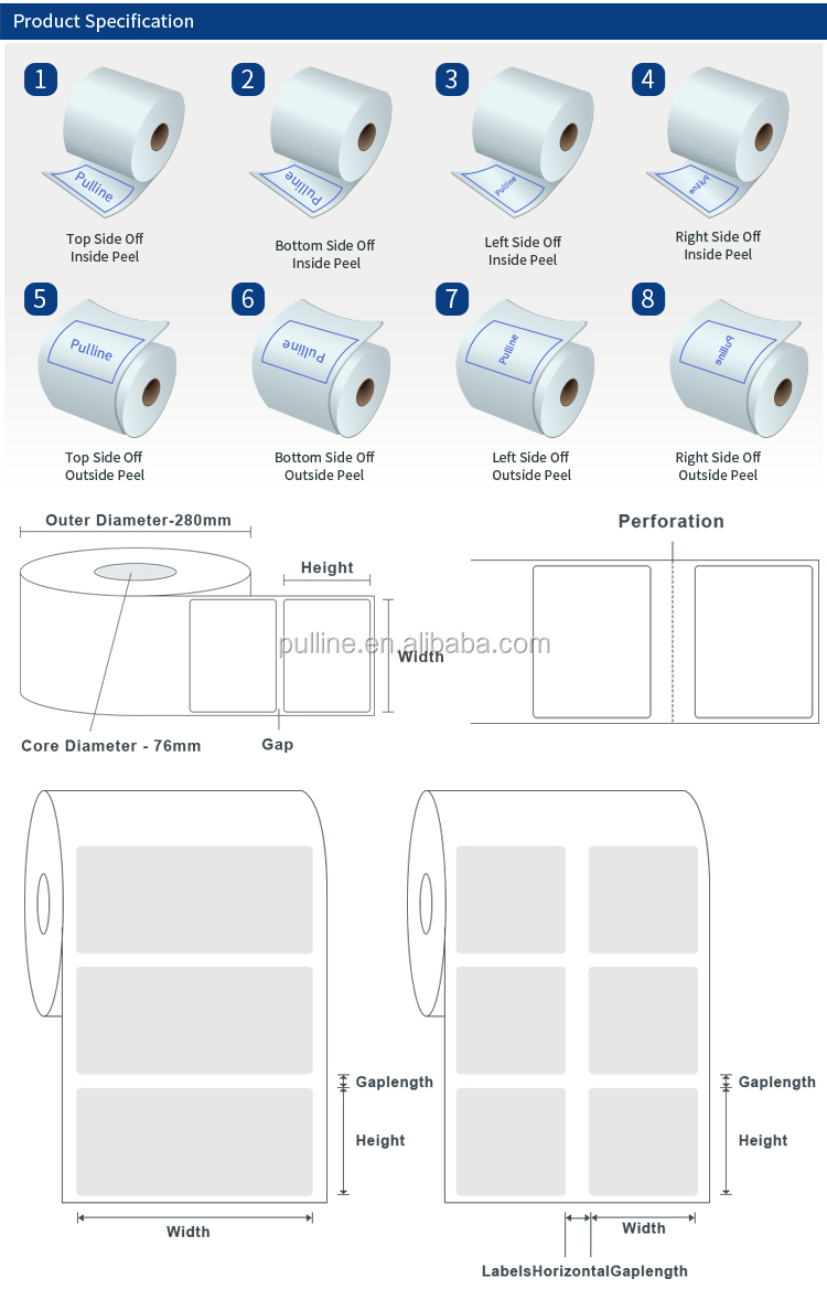Multi-page Booklet Label Sticker Reasonable Leaflet Folded Drug Label in packaging labels