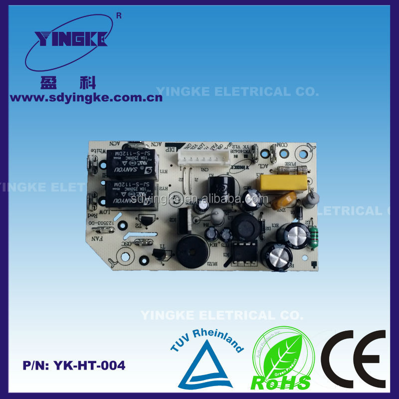 Safety Steady output designed electric heater parts printed circuit board
