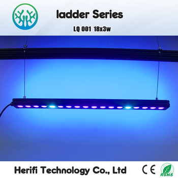 18x3w 36w Blue White LED Aquarium Light for Coral Reef LED Aquarium Bar Light