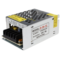 Cute ac dc 110v/ 220v AC 12v 3.2A 5a 10a 15a switch power supply unit for CCTV LED