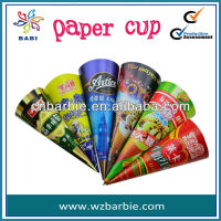 cone paper ice cream container