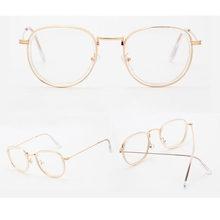 Ретро Винтаж для мужчин и женщин оправа для очков прозрачные линзы очки Горячее предложение-Y107(Китай)