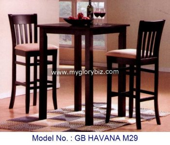 Pub Furniture Set Bar Chair Bar Table Bar Stool Furniture Wooden Bar
