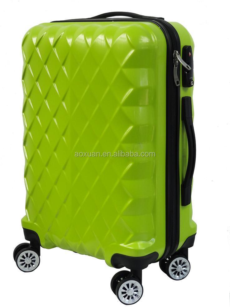 51a200165d797 الشباب abs الأمتعة الخضراء طويلة أكياس الأمتعة عربة abs حقيبة سفر الأمتعة
