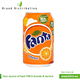 Fanta 0,33L can Orange soft drink