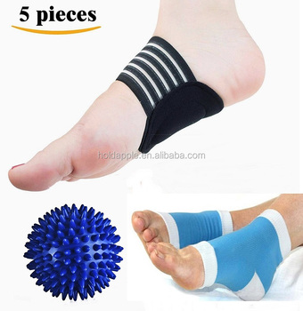 deeabd1c17 Plantar Fasciitis-Plantar Fasciitis Sleeve Ankle Brace,Foot Massage Ball  for Metatarsal Pain Kit