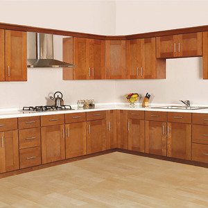 Customizable High End Pecan Wood Carving Kitchen Cabinets