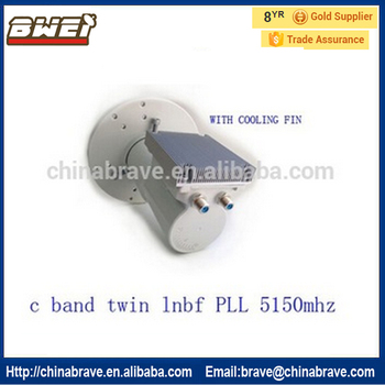 Hd C Band Lnb Twin Output Frequency 5150 Pll For All The Market - Buy C  Band Lnb Price In Pakistan,C Band Lnb India,C Band Lnb Frequency Product on