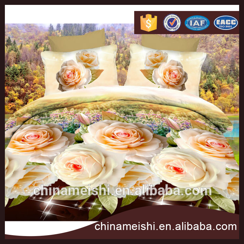 100% high quality assurance best price 3d bed linens