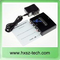 RGB/Ypbpr to HDMI converter Component to HDMI Converter HDMI Component converter