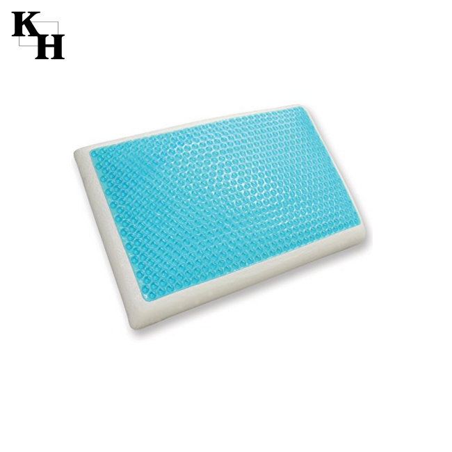 latex and cooling gel memory foam pillow