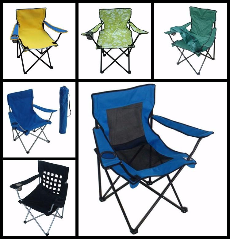 barato de lona plegable apoyabrazos reclinable silla plegable