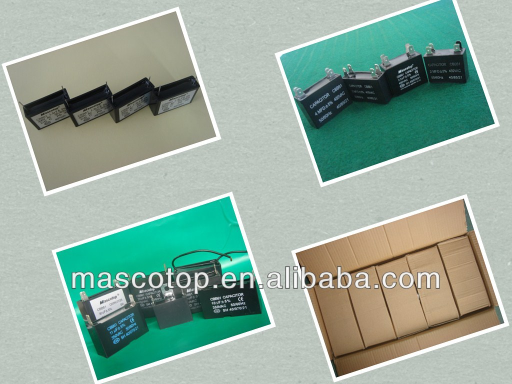 Fan Capacitor Cbb61 5 Wire