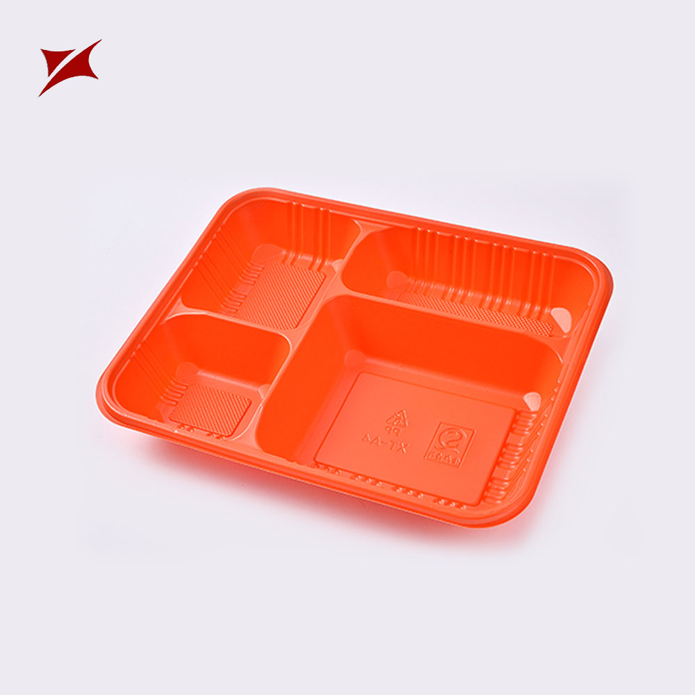 Selling blister pp food lunch box dividers plastic mushroom tray