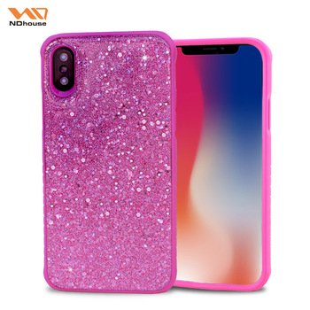 d7e0b9ab1ac866 NDHOUSE Shockproof Phone For Iphone 10 Case, Girly For Iphone X Case Bling