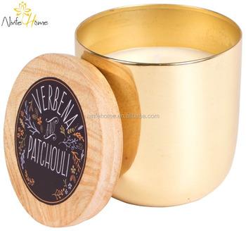 Personnalise Prive Etiquette Parfumee Bougie Decorative D Etain Avec