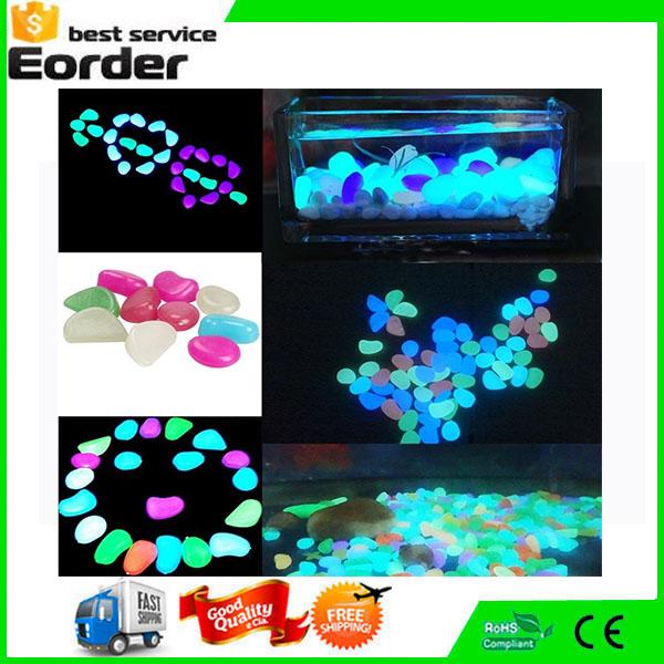 moq ud bolsas mezcla perfecta de color decorativo luminoso colorido de grava para fantstico