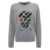 Fashion design pullover long sleeve crew neck wool knit Embroidery fall winter warm thick women Sweater lady Cashmere Jumper