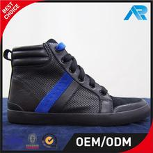 Professional vulcanized men sneakers and high neck casual shoes with SGS certificate