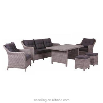 Royal Rattan Sofa Set Living Rooms To Go Outdoor Bench Furniture Wicker