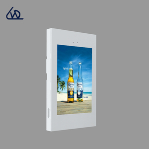 ultra narrow bezel video outdoor touch screen kiosk totem LCD display with built in computer