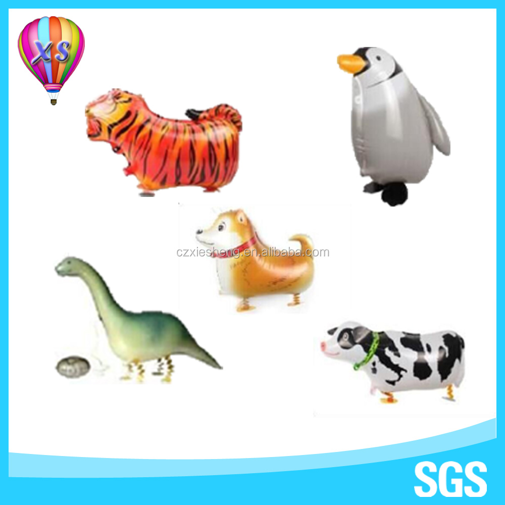 walking pet balloons for birthday party decoration and toys to kids