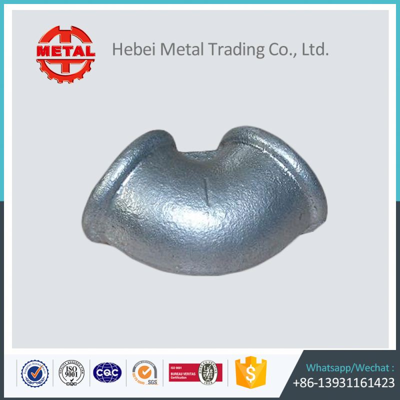 electric galvanized malleable iron pipe fittings elbow