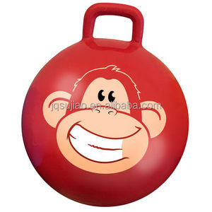 Kids Jump & Bounce Space Hopper Bouncer Retro Ball Outdoor Toy