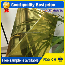 mirror gold Sublimation blanks aluminum metal plate 0.4mm
