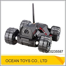 Long distance 4ch wifi remote control car with camera