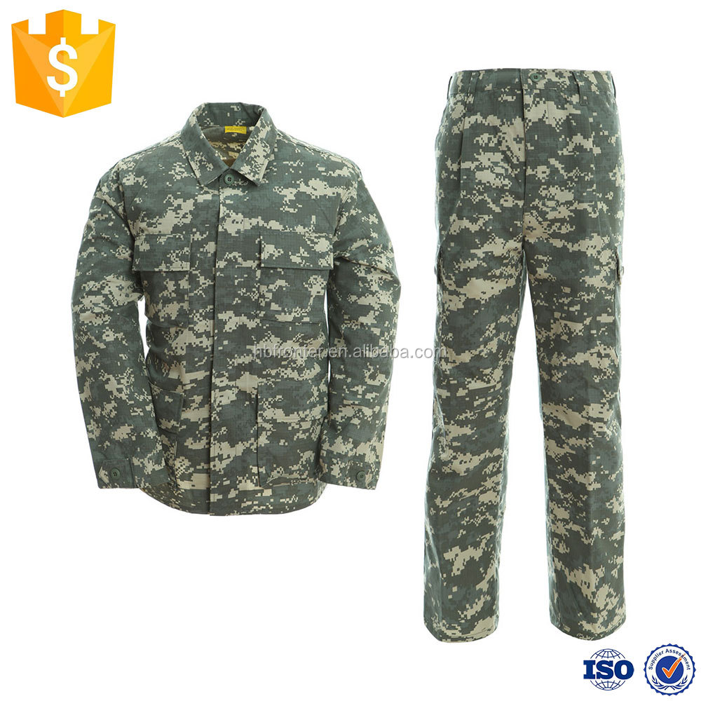B.D.U. Shirts feature a Poly/Cotton twill material military Uniform Clothing Universal Camo Camouflage