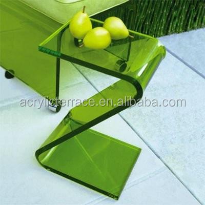 Acryl z telefon tisch z form beistelltisch fd140803027 for Telefon beistelltisch