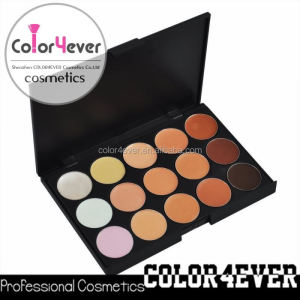 Professional 15 Concealer,15 cover concealer palette makeup samples wholesale price