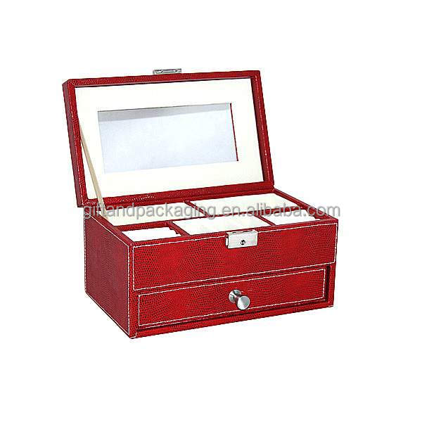 2016 favorable price wooden jewelry boxes factory