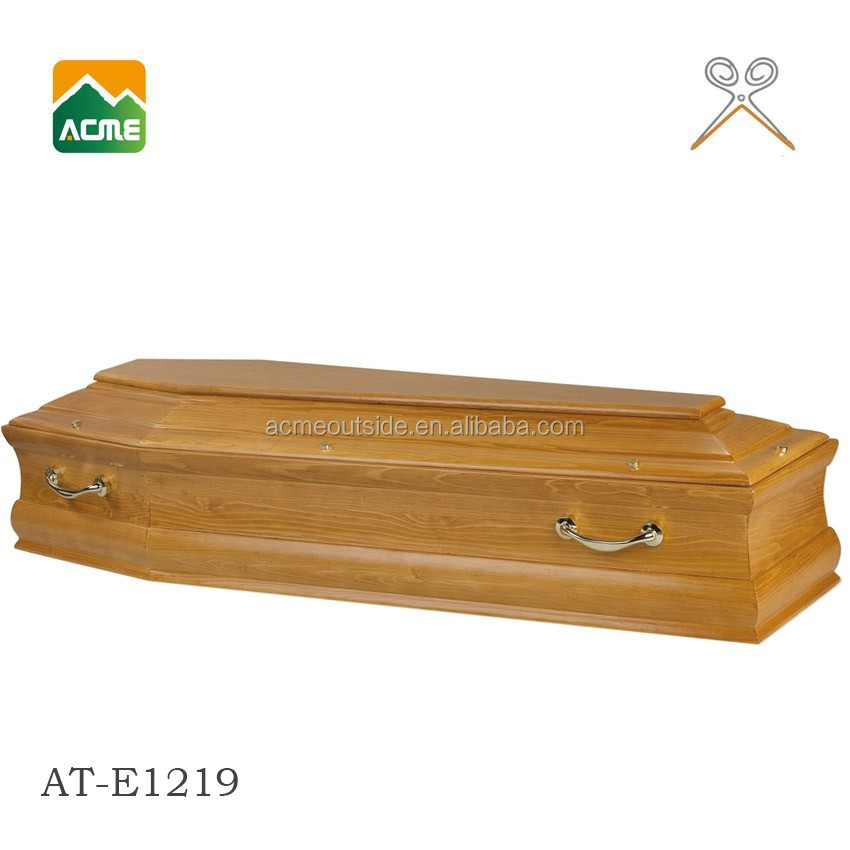 AT-E1219 wholesale good quality europe coffin