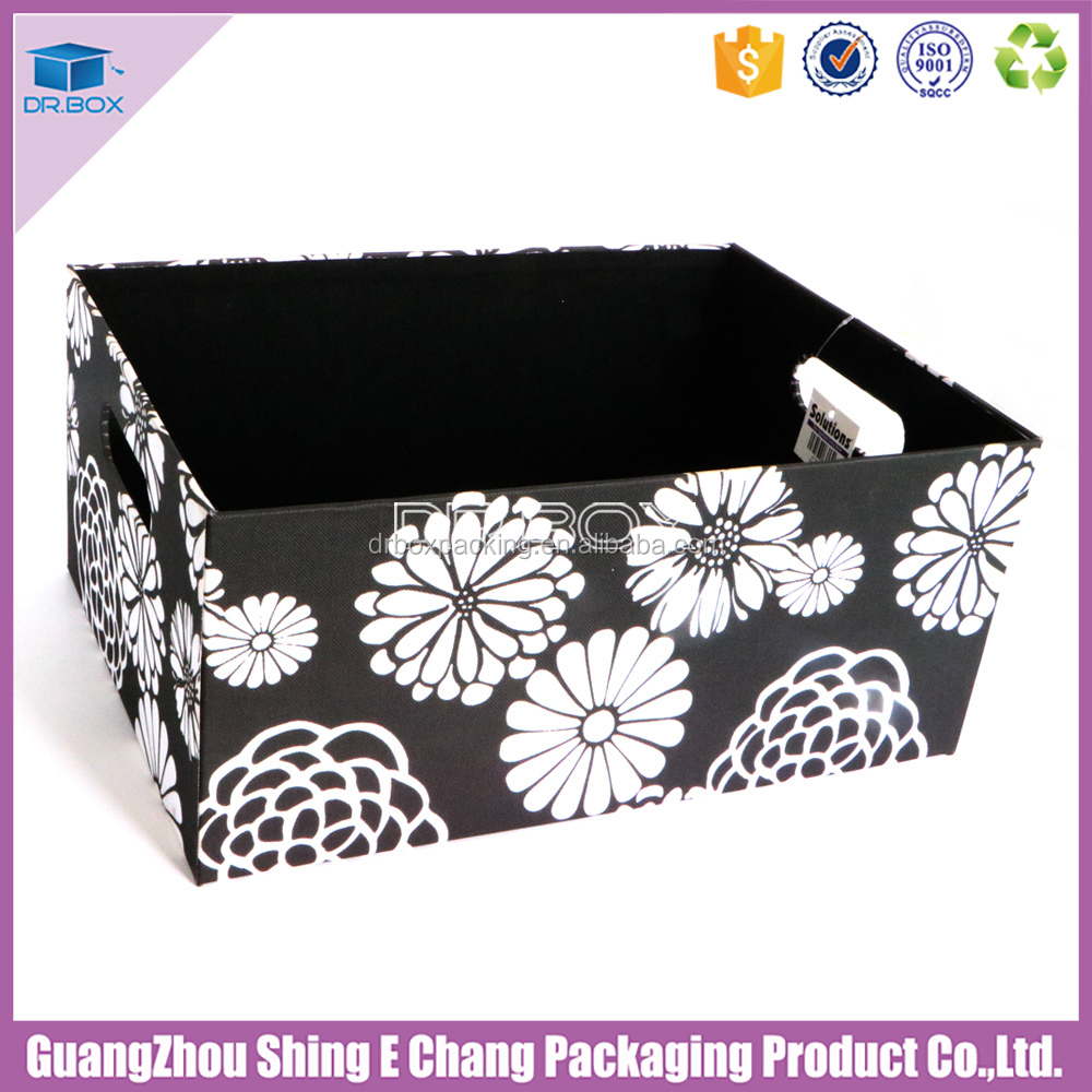Latest house storage box newspaper storage box office box with various color for your choice