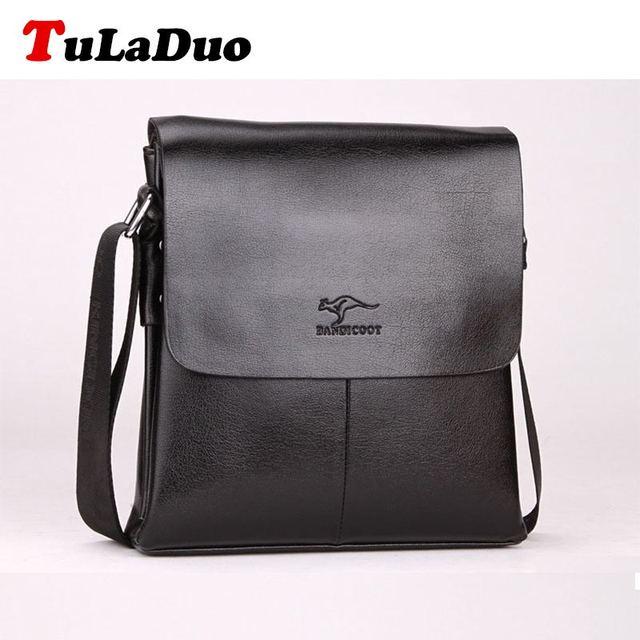 71322c320772 Tuladuo марка Bolsos мужская сумка на плечо бизнес мужчин искусственная кожа  мужской .