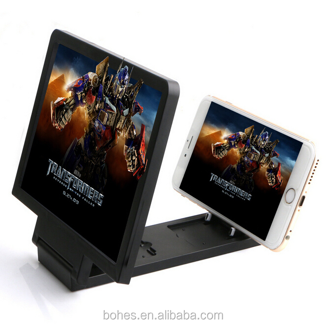 Display 3D effect mobile phone screen magnifier For iphone