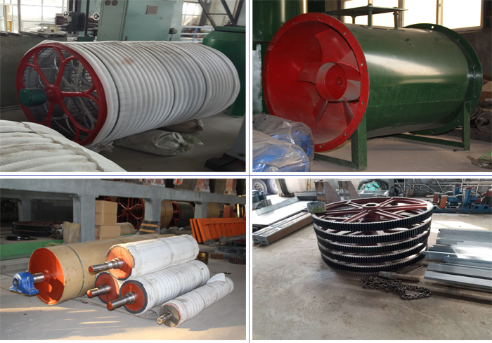 virgin kraft liner paper machine main parts