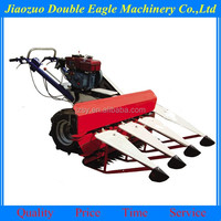 Self-walking mini-typed paddy and wheat harvesting dryer