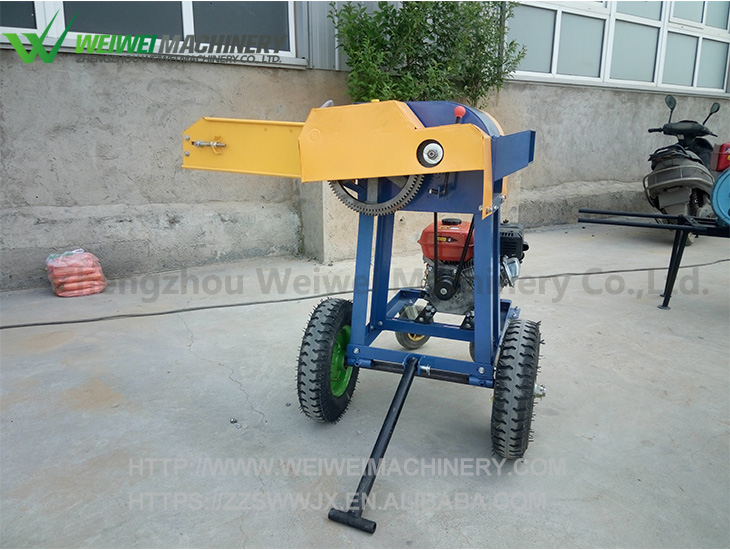 Weiwei grass cutting corn silage china chaff machine baler