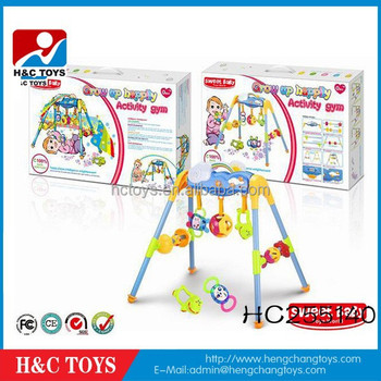 Funny Baby Music Fitness Frame Baby Activity Gym Baby Activity Frame ...