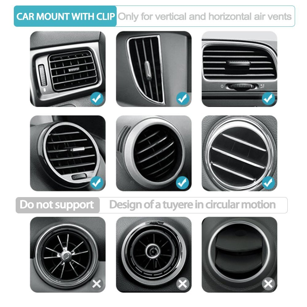 2019 Universal Air Vent Car Phone Holder One Key Release Air Vent Phone Mount For Iphone/Samsung