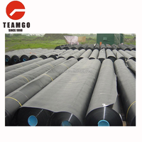 0.75mm farm irrigation systems dam liner wastewater treatment smooth hdpe type geomembrane price