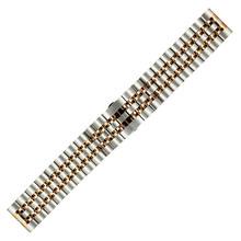 Нержавеющая сталь Смотреть Band 20 мм 22 для Rolex бабочка туфли с ремешком и пряжкой Quick Release петли ремня браслет черный, серебристый цвет + прин(Китай)