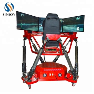 Factory Price 3 Screen F1 Racing Car Motion Platform Driving Simulator